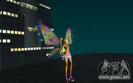 Stella Believix from Winx Club Rockstars para GTA San Andreas