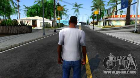 Weezer T-Shirt para GTA San Andreas tercera pantalla
