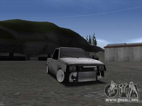 VAZ 1111 Drift para GTA San Andreas vista hacia atrás