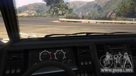 GTA 5 Ambulance SAMU Santa Catarina Brasil vista lateral derecha