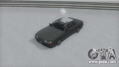 Elegy Winter IVF para GTA San Andreas