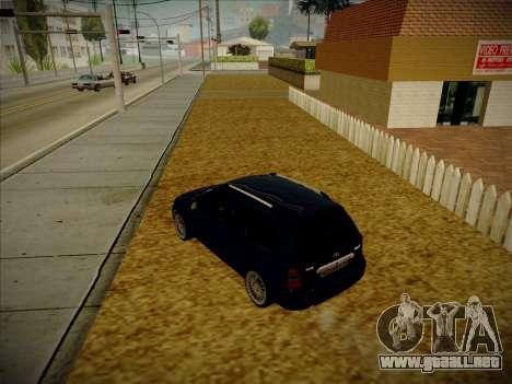 VAZ Kalina 1117 Carelio Edición para GTA San Andreas left