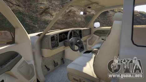 GTA 5 2000 Chevrolet Silverado 1500 vista lateral derecha