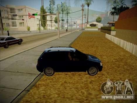 VAZ Kalina 1117 Carelio Edición para GTA San Andreas vista hacia atrás
