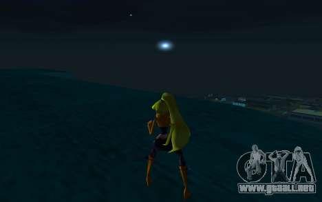 Stella Rock Outfit from Winx Club Rockstars para GTA San Andreas tercera pantalla