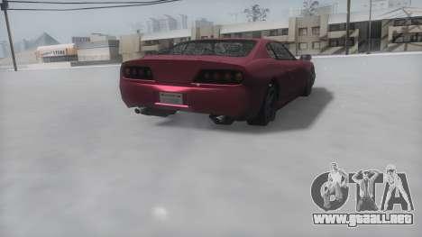 Jester Winter IVF para GTA San Andreas left
