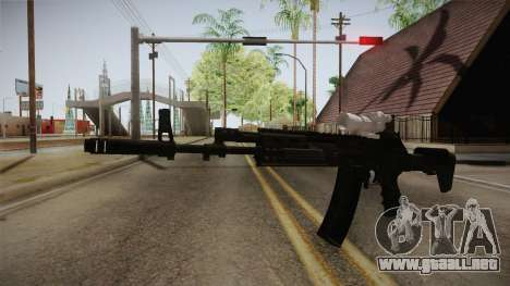 Call of Duty Ghosts - AK-12 with Scope para GTA San Andreas segunda pantalla