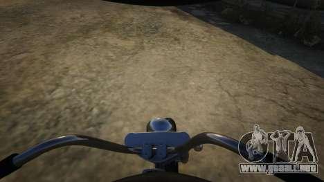 GTA 5 Daemon SOA Harley-Davidson vista lateral derecha