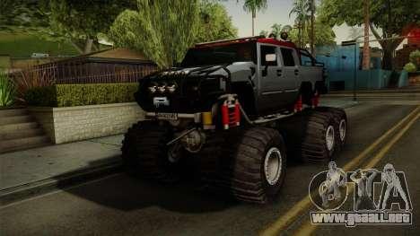 Hummer H2 6x6 Monster para GTA San Andreas