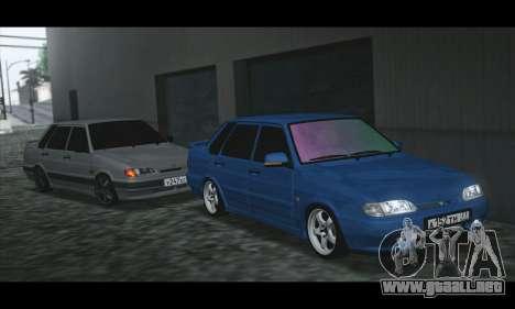 2115 Azul para GTA San Andreas left