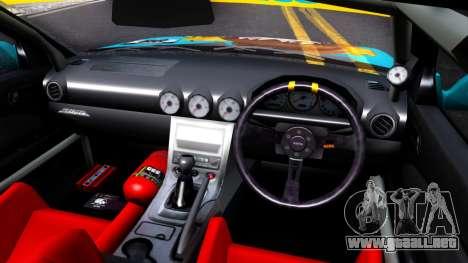 Taneshima Popura NISSAN Silvia S15 Itasha para visión interna GTA San Andreas