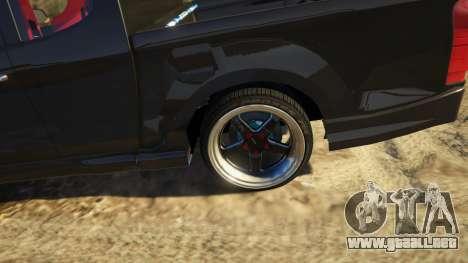 GTA 5 Isuzu D-Max X-Series 2015 vista trasera