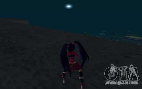 Musa Rock Outfit from Winx Club Rockstars para GTA San Andreas tercera pantalla