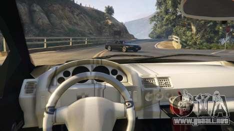 GTA 5 Opel Calibra GT v2 vista lateral derecha