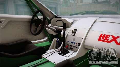 Aston Martin Racing DBRS9 GT3 2006 v1.0.6 YCH v2 para visión interna GTA San Andreas