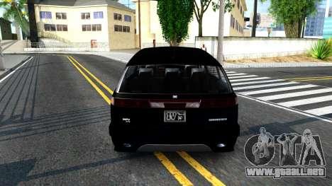 2010 Dinka Perennial Unmarked para GTA San Andreas vista posterior izquierda