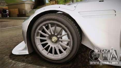 Aston Martin Racing DBR9 2005 v2.0.1 YCH para GTA San Andreas vista posterior izquierda