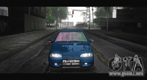 2115 Azul para GTA San Andreas vista posterior izquierda