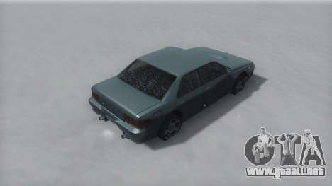 Sultan Winter IVF para GTA San Andreas left