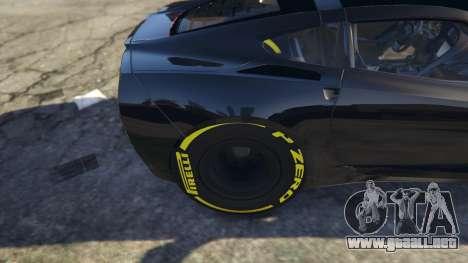 Drag Chevrolet Corvette C7 para GTA 5