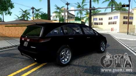 2010 Dinka Perennial Unmarked para la visión correcta GTA San Andreas