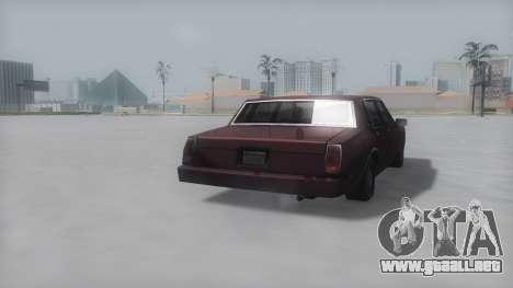 Tahoma Winter IVF para GTA San Andreas left