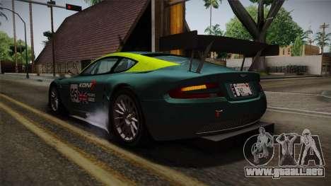 Aston Martin Racing DBRS9 GT3 2006 v1.0.6 YCH v2 para las ruedas de GTA San Andreas