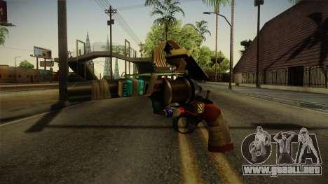 Tool Gun From Garrys Mod para GTA San Andreas segunda pantalla