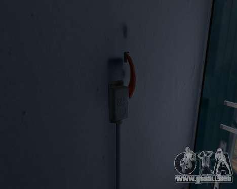 Segunda clase de carro para visión interna GTA San Andreas