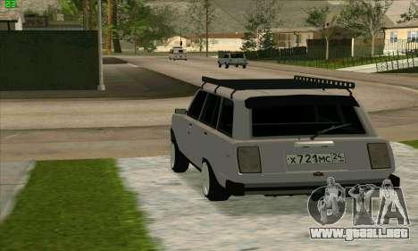 VAZ 2104 Krasnoyarsk Azelow estilo para GTA San Andreas left
