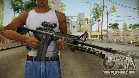 M4A1 ACOG para GTA San Andreas