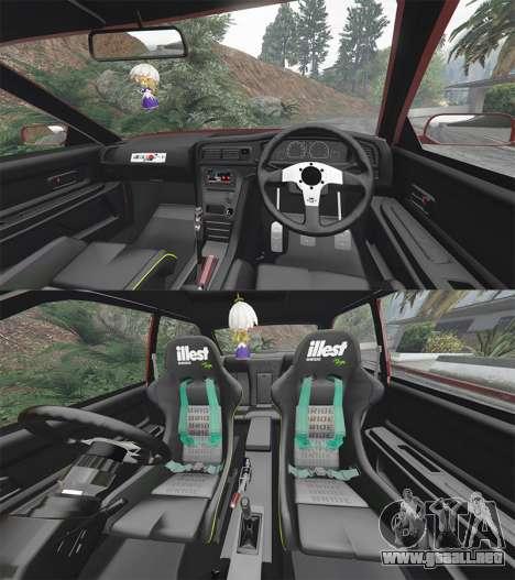 GTA 5 Toyota Chaser (JZX100) cambered [add-on] delantero derecho vista lateral