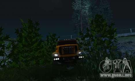 Ural Camión De Combustible Siguiente para vista lateral GTA San Andreas
