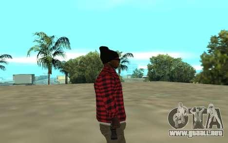 The Ballas para GTA San Andreas segunda pantalla