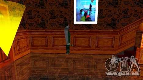 Crocodile Dundee Knife OUTBACK para GTA San Andreas tercera pantalla