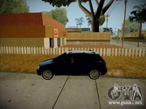 VAZ Kalina 1117 Carelio Edición para visión interna GTA San Andreas