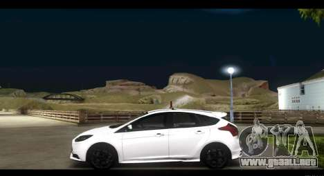 Ford Focus ST 2013 Formación para GTA San Andreas left