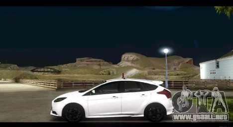 Ford Focus ST 2013 Formación para GTA San Andreas left