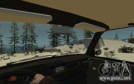 VAZ 2104 VFTS para GTA 4 Vista posterior izquierda