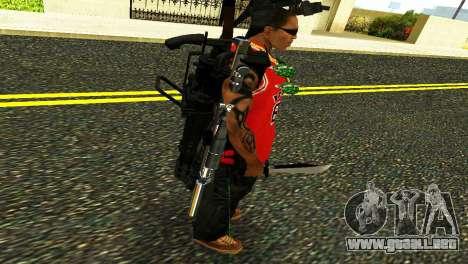 Crocodile Dundee Knife OUTBACK para GTA San Andreas sucesivamente de pantalla