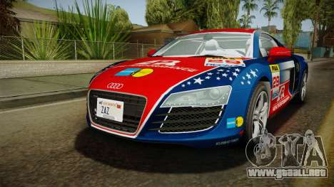 Audi R8 Coupe 4.2 FSI quattro EU-Spec 2008 para GTA San Andreas