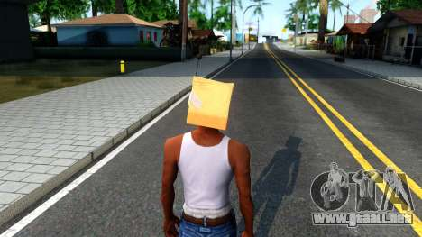 Bot Fan Mask From The Sims 3 para GTA San Andreas tercera pantalla