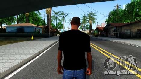 GTA Online T-Shirt para GTA San Andreas tercera pantalla