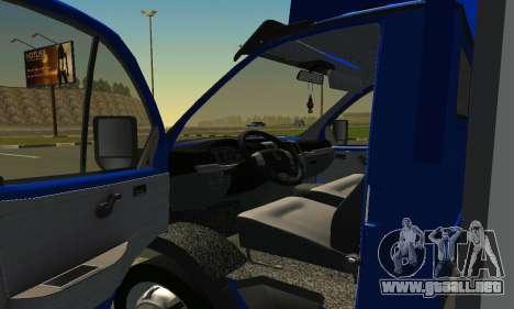Gazel 3302 Negocio para la visión correcta GTA San Andreas