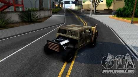 New Patriot GTA V para visión interna GTA San Andreas