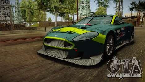Aston Martin Racing DBR9 2005 v2.0.1 Dirt para las ruedas de GTA San Andreas
