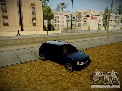 VAZ Kalina 1117 Carelio Edición para la visión correcta GTA San Andreas
