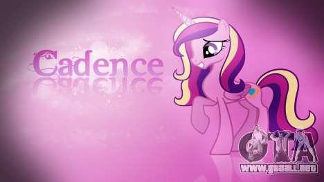 Pantallas de carga de My Little Pony para GTA San Andreas segunda pantalla