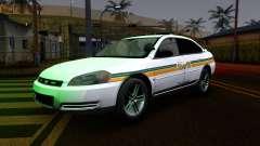 2008 Chevrolet Impala LTZ County Sheriff para GTA San Andreas