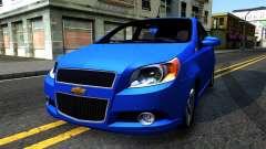 Chevrolet Aveo 2012 para GTA San Andreas
